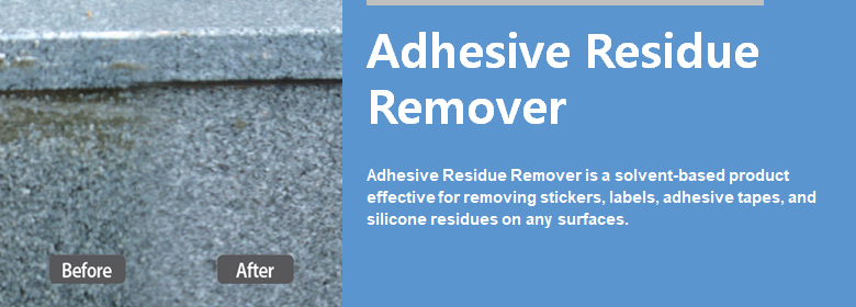 ConfiAd® Adhesive Residue Remover is an effective product, solvent-based, for removing stickers, labels, adhesive tapes, silicone residue from almost any surface.