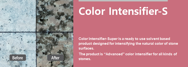 ConfiAd® Color Intensifier-Super is a ready to use solvent based product designed for intensifying the natural color of stone surfaces. The product is advanced color intensifier for all kinds of stones.